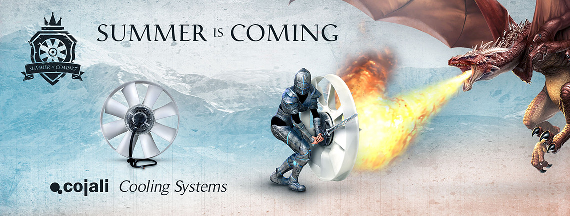 Cojali Cooling Systems: Summer is coming