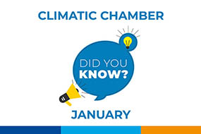 DID YOU KNOW?: Test Laboratory: Climatic chamber