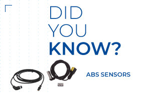 DID YOU KNOW THAT SENSORS ARE ESSENTIAL FOR YOUR VEHICLE SAFETY?