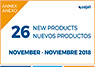 New Cojali products November 2018