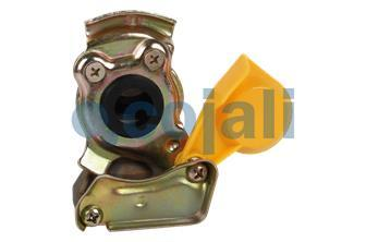 STANDARD YELLOW COUPLING HEAD 16X150