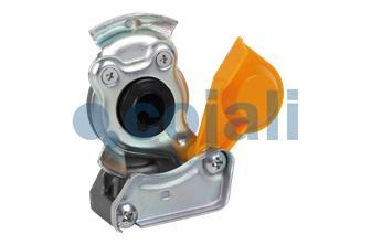 AUTOMATIC YELLOW COUPLING HEAD 16X150