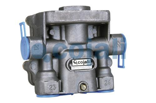 FOUR CIRCUIT PROTECTION VALVE, 2222402, 9347140030